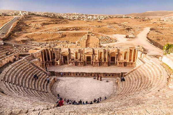 South Theatre i Jerash