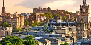 Restplasser til Edinburgh