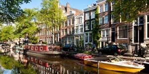 Hyggelige Amsterdam er perfekt for en miniferie
