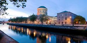 Dublin er hyggelig for en hoppe-på-tur