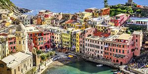 Populære reisemål i Italia