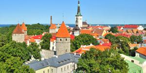 Reis til Tallinn på hoppe-på-tur og se gamlebyen