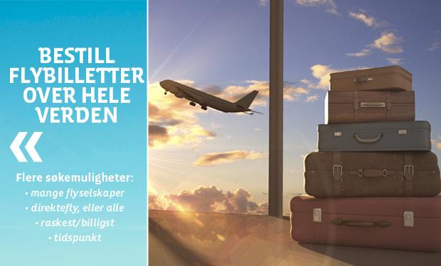 Bestill flybilletter
