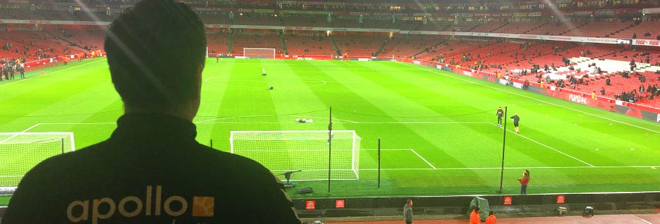 Fotballturen går til Arsenal - Emirates stadium