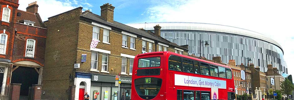Guide: Fotballreiser til Tottenhams nye Stadion i London