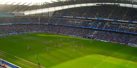 Man City spiller på Etihad stadium