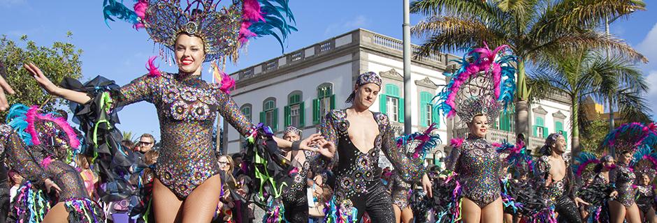 Bilde av: Karnevalet på Gran Canaria